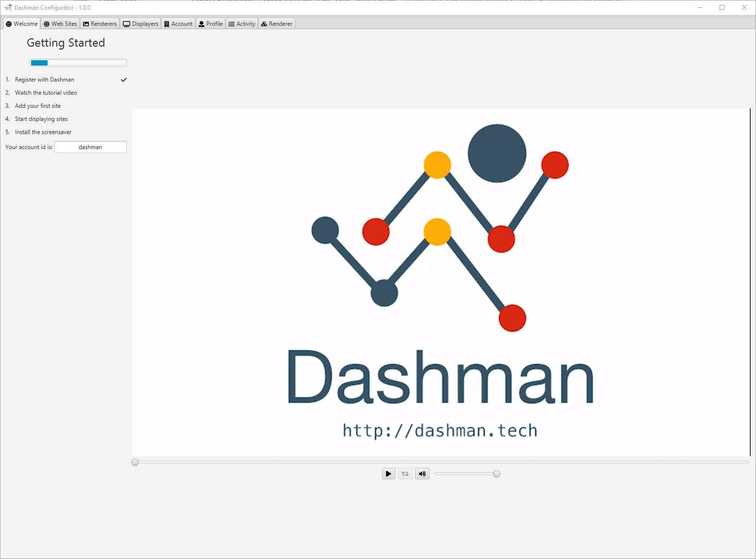 Dashman just started