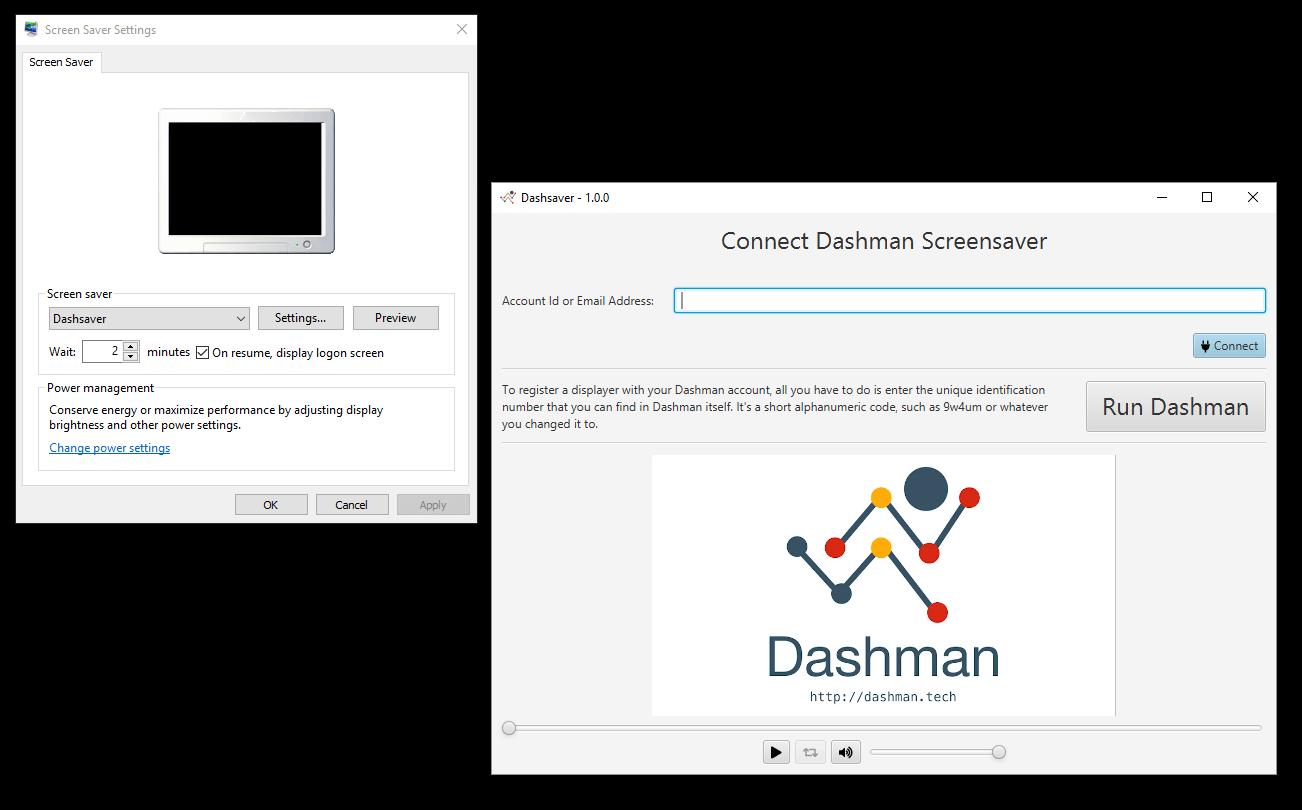 Dashman - screensaver