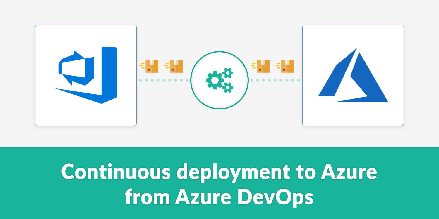 Continuous deployment to Azure from Azure DevOps