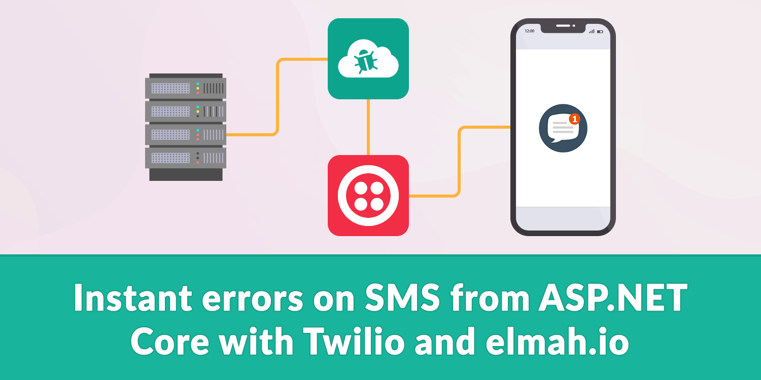 Instant errors on SMS from ASP NET Core with Twilio and
