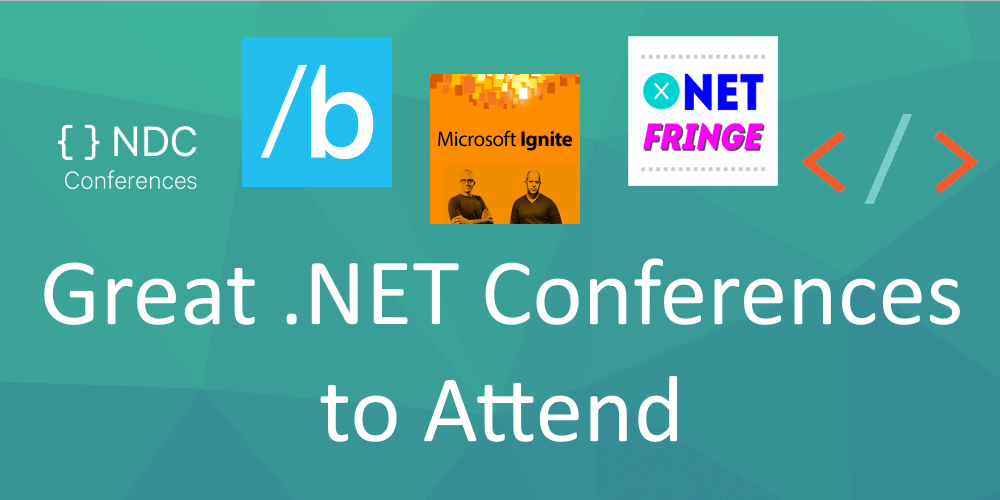 .NET conferences to attend